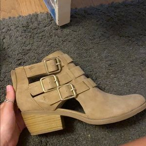 Soda Tan Booties